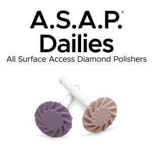 A.S.A.P. Dailies All Surface Access Diamond Polishers Image